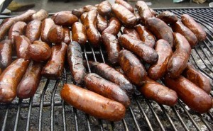 BBQ Sausage Yorkshire